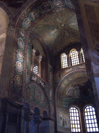 Chancel of San Vitale Ravenna Medieval