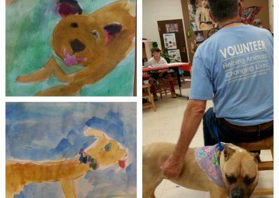 Coco Rescue Dog Visit 2016