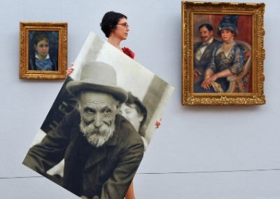 Renoir visits his paintings