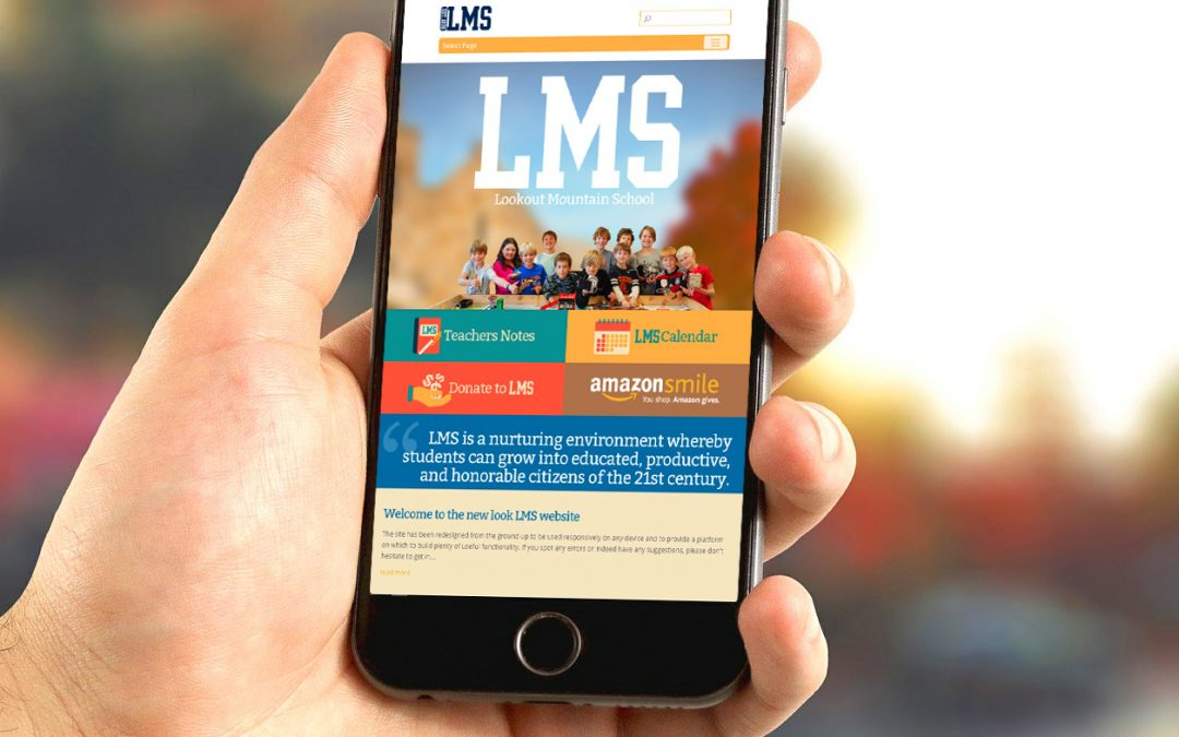 Welcome to the new look LMS website